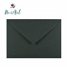 Papier - Obálka tmavozelená C6 - 13307280_