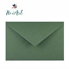 Papier - Obálka zelená sekvoja C6 - 13307284_