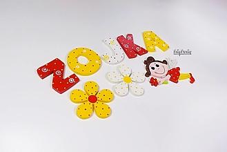 Detské doplnky - menovkaz písmen pre Zojku - 13308038_