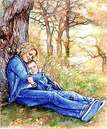 Obrazy - Obraz na želanie - rodinná momentka - 13307248_