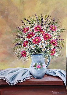 Obrazy - Romantické zátišie - 13309666_