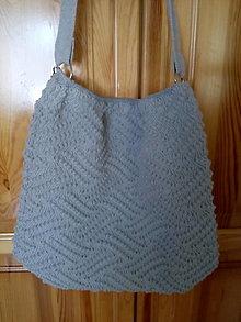 Nákupné tašky - Pletené tašky - 13307748_
