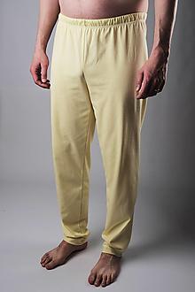 Oblečenie - Žlťásky pánske pyžamové nohavice - 13309091_