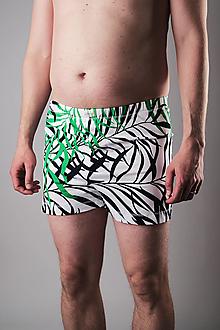 Oblečenie - Kráľ džungle 2 ks pánske trenky bambus - 13310480_