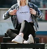 - dámske tričko MAMA JE LEN JEDNA - 13307002_