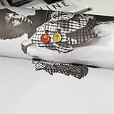 Náhrdelníky - Kvetový púčik strieborný náhrdelník - yellow - 13307792_