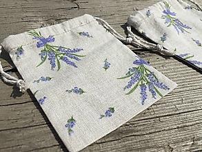 Úžitkový textil - vrecúško na levanduľu .... - 13308035_