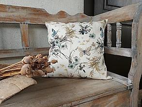 Úžitkový textil - Obliečka na vankúš Fleeting Touch (40x40 cm) - 13309767_