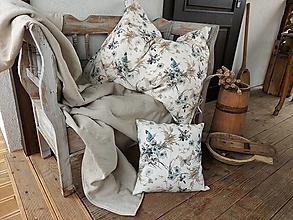 Úžitkový textil - Ľanové posteľné obliečky Unbelievable - 13309870_