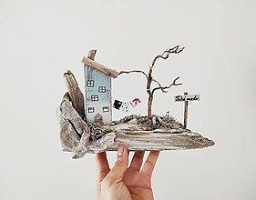 Dekorácie - Vintage domček ,,Tiché miesto,, - 13312041_