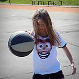 Detské oblečenie - Detské tričko s čiernym lemom - posledný kus 146 za zvýhodnenú cenu OčiPuči  Fillipo - 13313794_