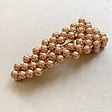 Ozdoby do vlasov - perlové sponky - 13311433_