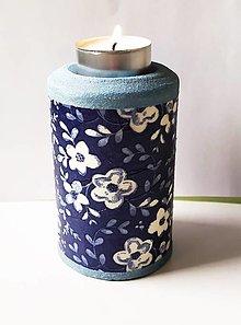 Svietidlá a sviečky - Svietnik na čajovú sviečku - 13312146_