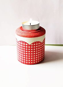 Svietidlá a sviečky - Svietnik na čajovú sviečku - 13312787_