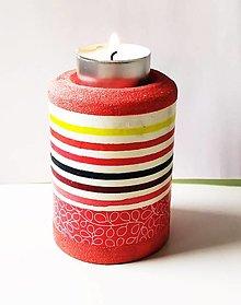 Svietidlá a sviečky - Svietnik na čajovú sviečku - 13312797_