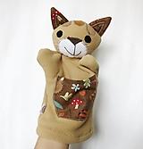 Hračky - Maňuška mačka - Mačka divá z Tmavého lesa - 13314118_