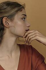 Sady šperkov - Strieborný set - náušnice a prsteň s mini kruhmi (prázdne) - 13311526_