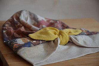 Detské čiapky - Čiapočka TURBAN- VÝPREDAJ (40 - 44 cm) - 13313424_