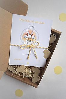 Darčekové poukážky - -Darčekový poukaz- - 13314159_