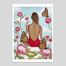 Grafika - Inner garden grafika - 13311504_
