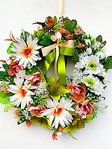Dekorácie - Veniec krása kvetín - 13313139_