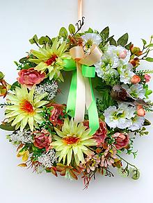 Dekorácie - Veniec krása kvetín - 13313120_