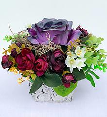 Dekorácie - Kvetinová dekorácia - 13313180_