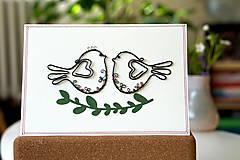 Papiernictvo - Svadobná veľká pohľadnica - 13311119_