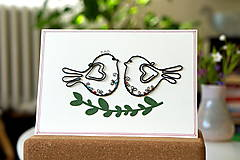 Papiernictvo - Svadobná veľká pohľadnica - 13311120_