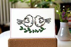 Papiernictvo - Svadobná veľká pohľadnica - 13311124_