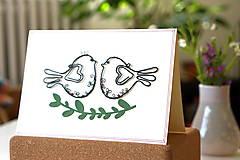 Papiernictvo - Svadobná veľká pohľadnica - 13311126_