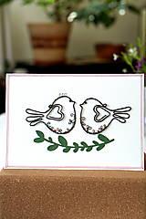 Papiernictvo - Svadobná veľká pohľadnica - 13311129_