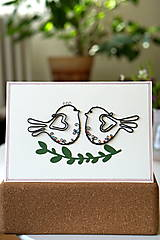 Papiernictvo - Svadobná veľká pohľadnica - 13311135_
