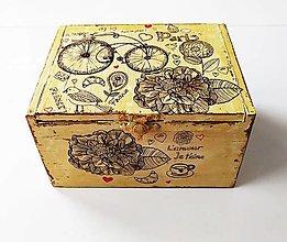 Krabičky - Šperkovnica - 13316782_