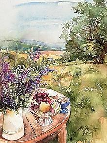 Obrazy - Akvarelový obraz na objednávku - 13315305_