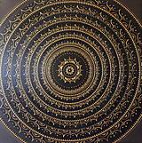 Obrazy - Mandala NOVÉ ZAČIATKY (black-gold) 80 x 80 - 13317176_