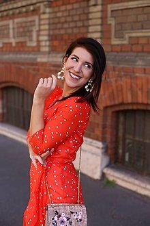 Šaty - ŠATY LOVE SHOW RED - 13316619_