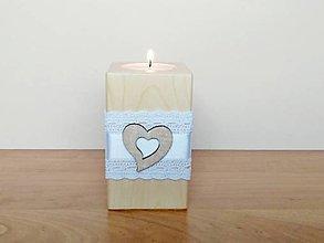 Svietidlá a sviečky - Svadobný svietnik ❤️ - 13317410_