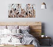Obrazy - V kroví, 100x50, abstraktný obraz - 13316981_
