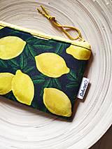 Taštičky - Taštička Lemon - 13317138_