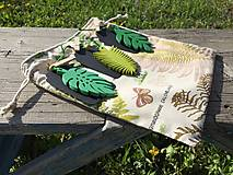 Úžitkový textil - vrecúško botanic.... - 13315302_