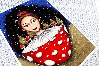 Kresby - Art Print Hríbiková - 13316240_
