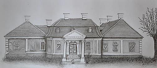 Kresby - Kaštieľ - 13316339_