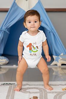 Detské oblečenie - Detské body na 1. rok - 13320686_
