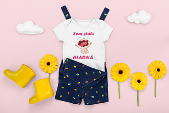 Detské oblečenie - Detské body - 13320718_