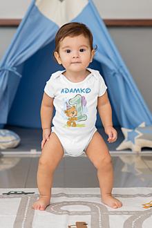 Detské oblečenie - Detské body na 1. rok - 13320791_