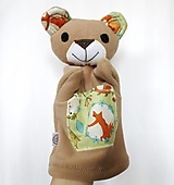 Hračky - Maňuška medveď - Medvedík od Líščieho chodníčka - 13319466_