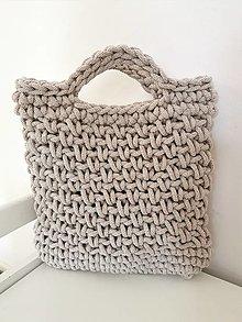 Kabelky - Háčkovaná taška - 13321088_