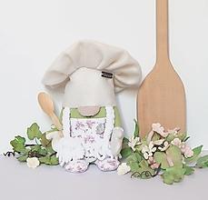 Dekorácie - Škriatok do kuchyne - pomocníčka pri varení - 13319030_