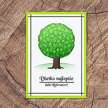 Papiernictvo - Strom pohľadnica (leto) - 13320732_